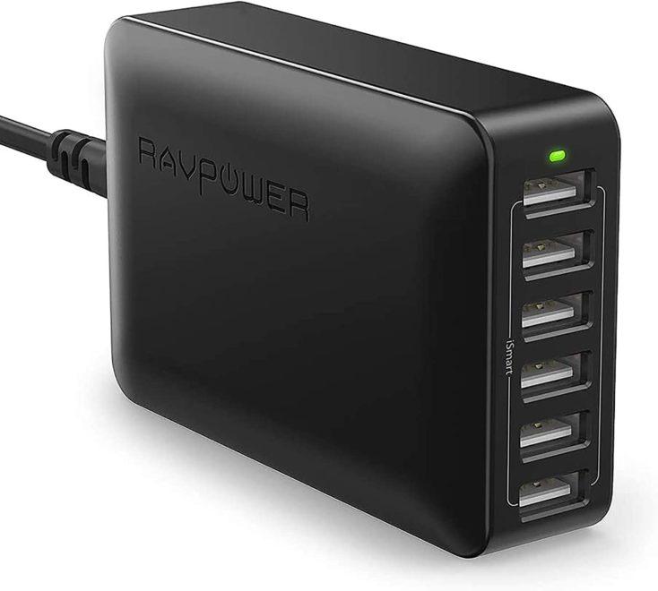 RAVPower 60W USB Ladestation
