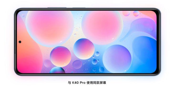 Redmi K40 Pro Display