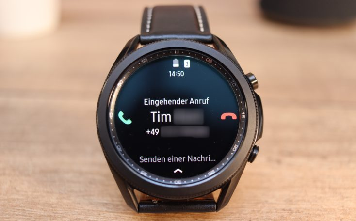 Samsung Galaxy Watch 3 Anruf