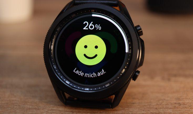 Samsung Galaxy Watch 3 Aufladen bitte