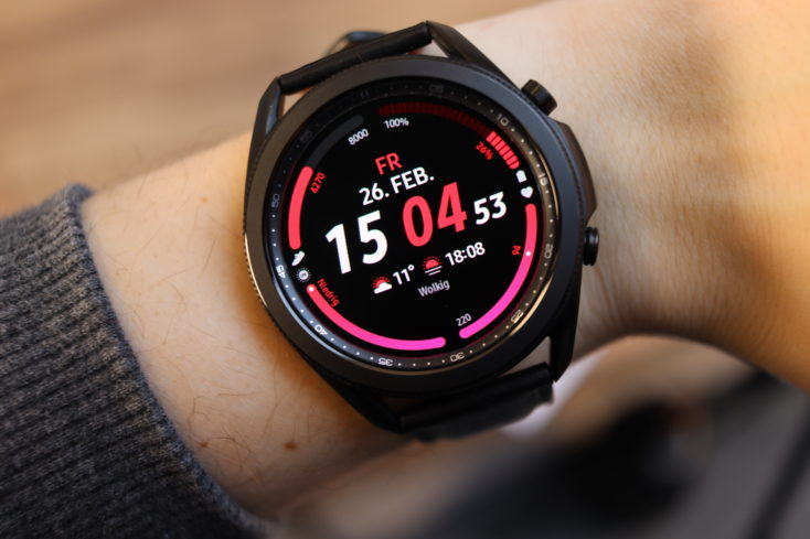 Samsung Galaxy Watch 3 Digital Watchface