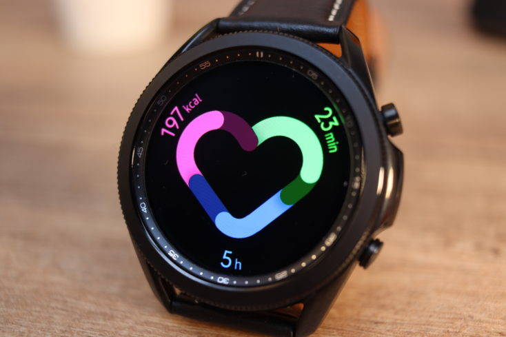 Samsung Galaxy Watch 3 Health Widget