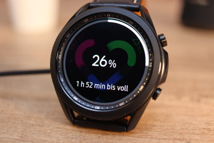 Samsung Galaxy Watch 3 Ladezeit