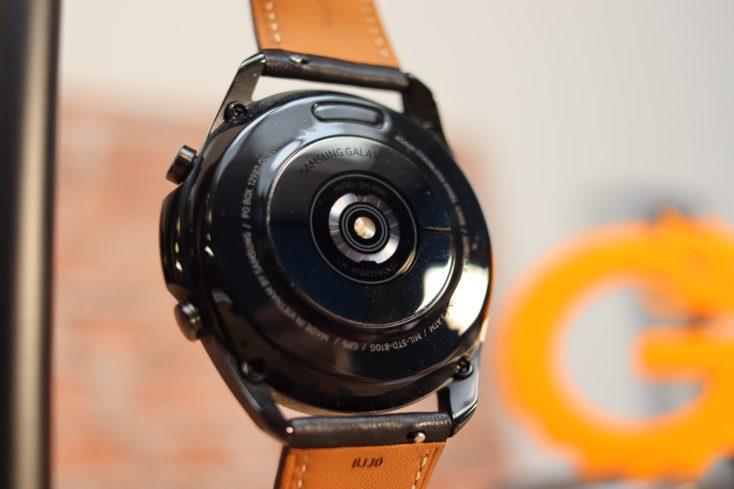 Samsung Galaxy Watch 3 Rueckseite Band wechseln