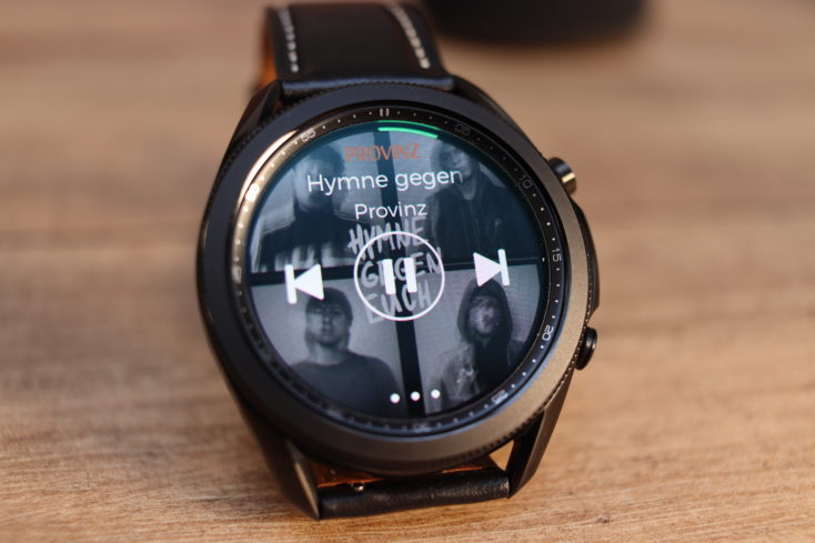Samsung Galaxy Watch 3 Spotify