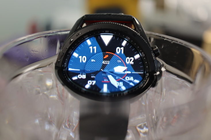 Samsung Galaxy Watch 3 Wasser