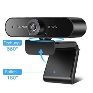 Tenviss TW888 Webcam Drehbarkeit