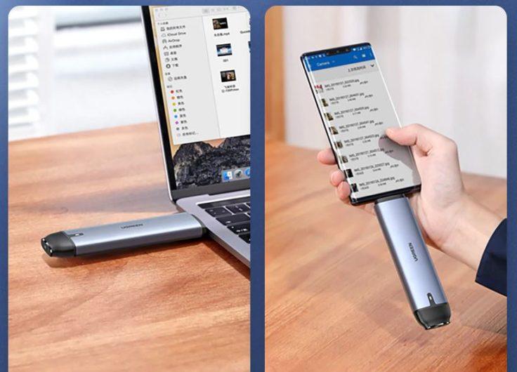 Ugreen SSD Gehaeuse Performance