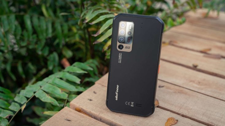 Ulefone Armor 11 Outdoor Smartphone Rueckseite