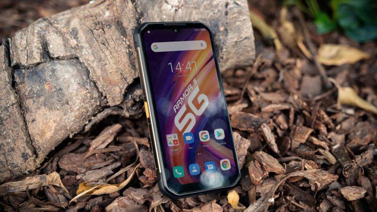 Ulefone Armor 11 Outdoor Smartphone Display