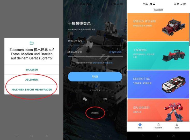 Xiaomi Blockworld App Einrichtung Tipps