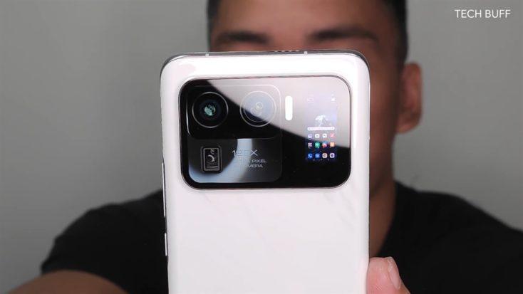 Xiaomi Mi 11 Ultra Kamera Rueckseite Display