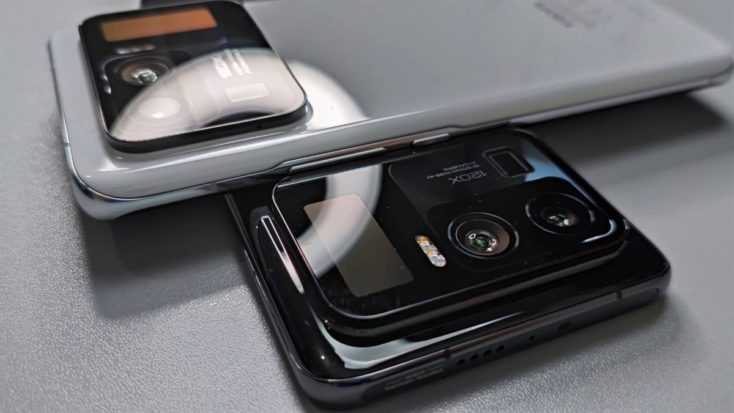 Xiaomi Mi 11 Ultra Smartphone Kamera Bump Farben