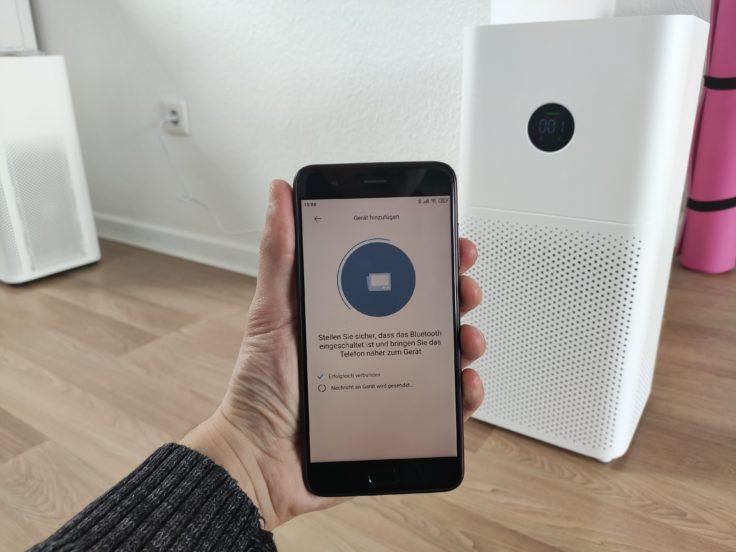 Xiaomi Mi Air Purifier 3H 3C Luftreiniger App-Steuerung Mi Home