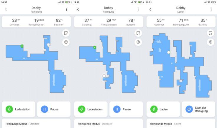 Xiaomi Mi Robot Vacuum Mop2 Pro Saugroboter App Mapping
