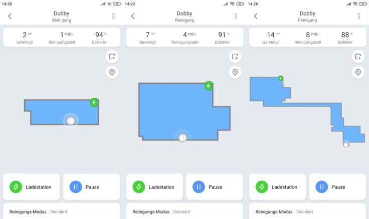 Xiaomi Mi Robot Vacuum Mop2 Pro Saugroboter App Mapping Beginn