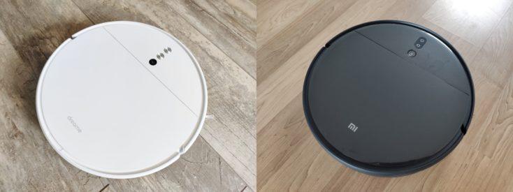 Xiaomi Mi Robot Vacuum-Mop 2 Pro+ Saugroboter Vergleich Design Dreame F9