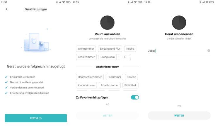 Xiaomi Mi Robot Vacuum Mop 2 Pro Saugroboter App Einbindung WLAN