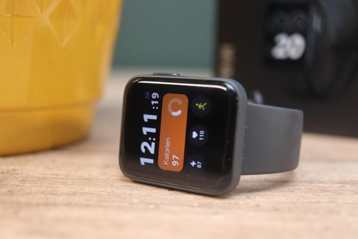 Xiaomi Mi Watch Lite Smartwatch Display liegend
