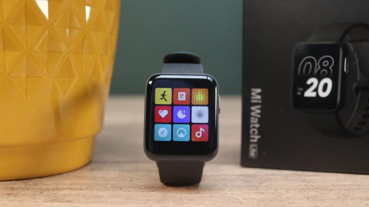 Xiaomi Mi Watch Lite Smartwatch Menue