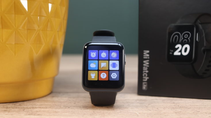 Xiaomi Mi Watch Lite Smartwatch Menue 2