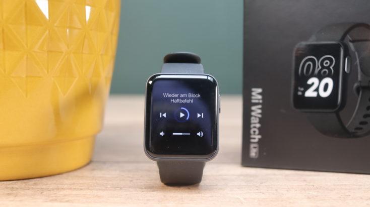 Xiaomi Mi Watch Lite Smartwatch Musiksteuerung