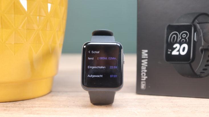 Xiaomi Mi Watch Lite Smartwatch Schlaftracking