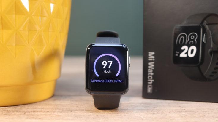 Xiaomi Mi Watch Lite Smarwatch Schlaf Widget
