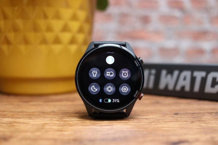 Xiaomi Mi Watch Smartwatch Schnelleinstellungen