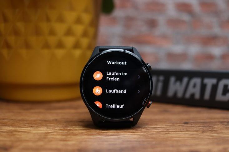 Xiaomi Mi Watch Smartwatch Sportmodi