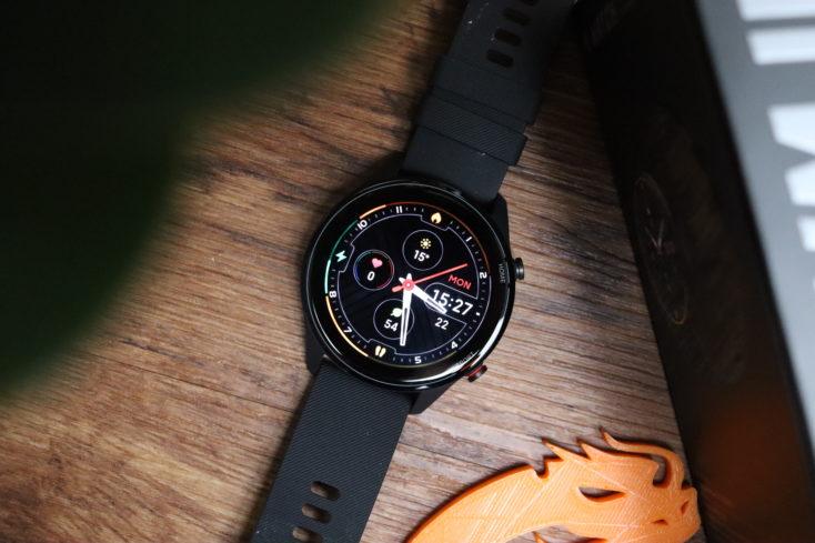 Xiaomi Mi Watch Smartwatch von oben