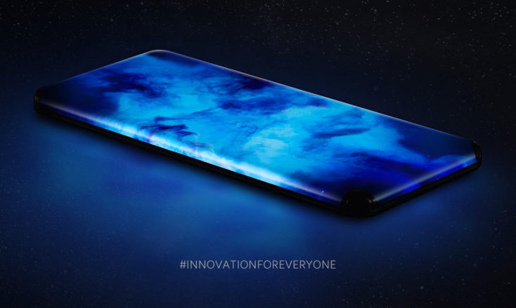 Xiaomi Quad-Curved-Waterfall-Display Design