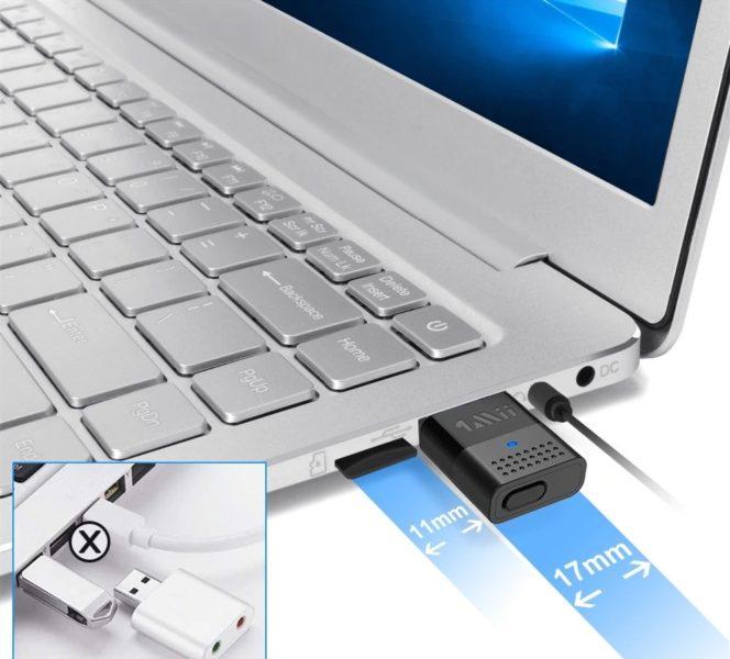 1mii B10 Bluetooth-Adapter Breite