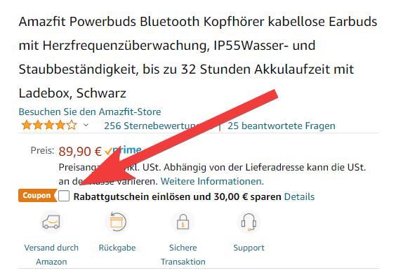 Amazfit PowerBuds Angebot