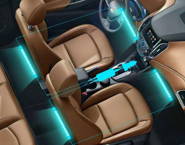 Auto Ambilight Kabelmanagment