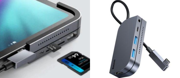 Baesus USBC Hub Versionen