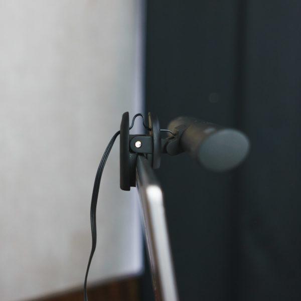 Quntis Laptop Lampe Befestigung