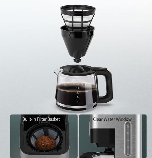 BlitzWolf BW-CMM1 Filterkaffeemaschine Reinigung
