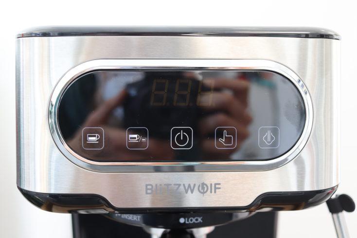 BlitzWolf Espressomaschine Display