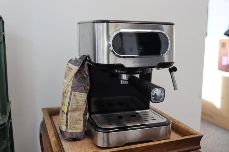 BlitzWolf Espressomaschine ganz