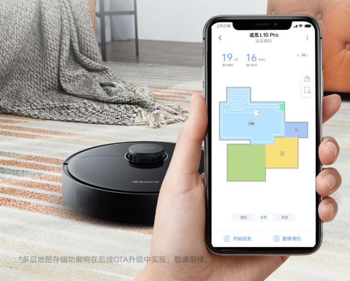 Dreame L10 Pro Saugroboter App