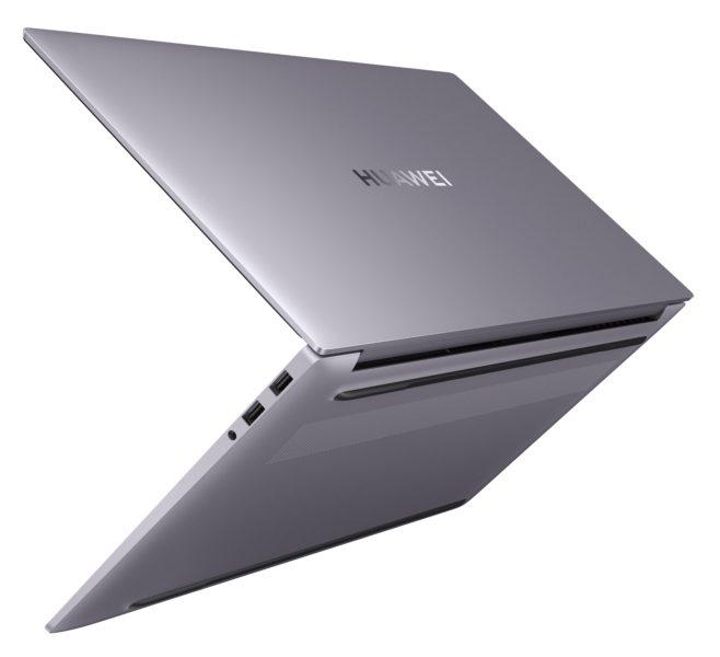 HUAWEI MateBook D16 Notebook von hinten