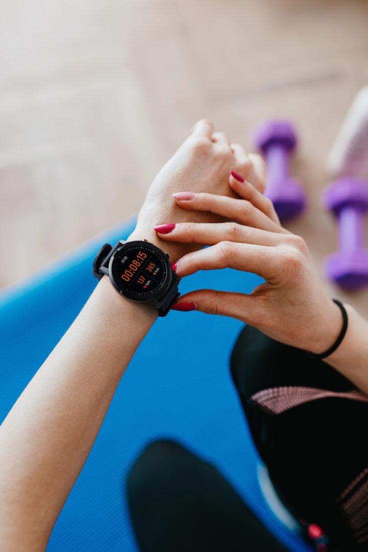 Haylou LS05S Smartwatch Bedienung