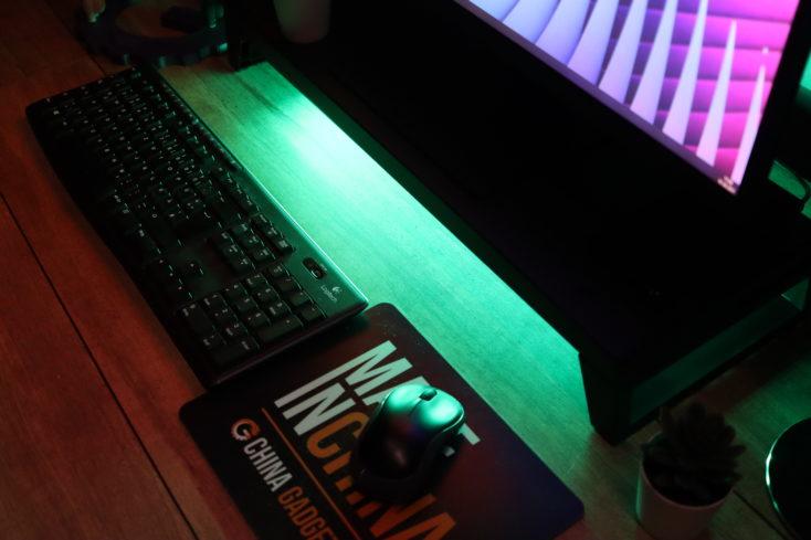 LANQ PCDock Pro Gruene LEDs