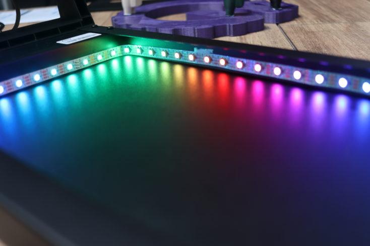 LANQ PCDock Pro RGB LEDs