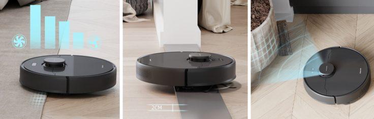 Mova L600 Saugroboter Sensorik