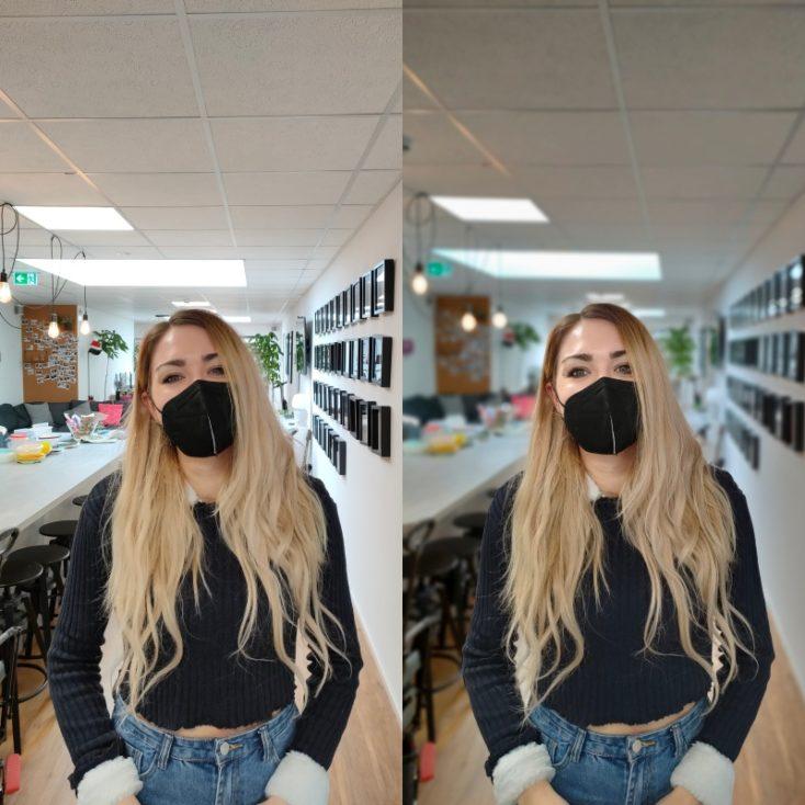 OPPO Find X3 Lite Portraitmodus Testfoto