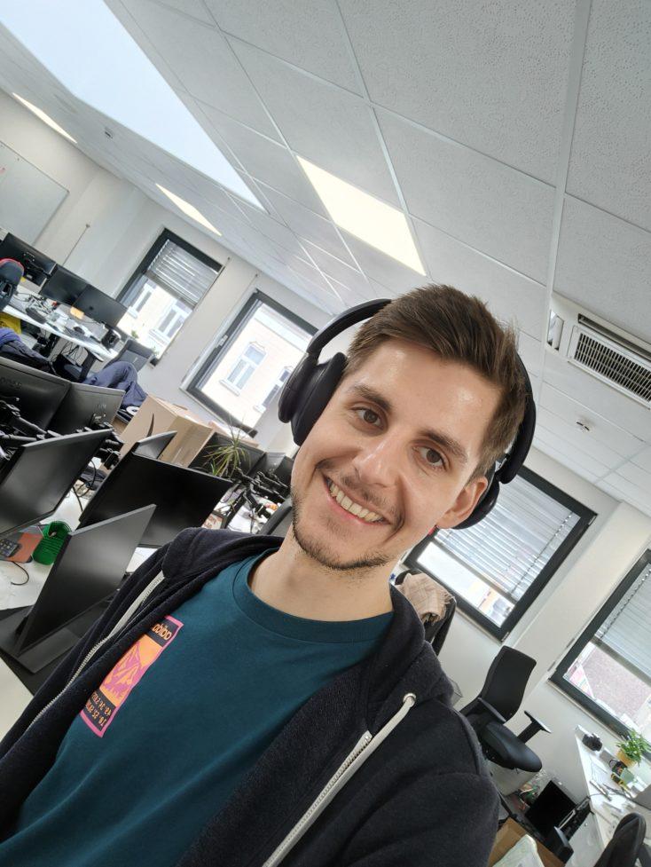 OPPO Find X3 Lite Selfie Testfoto