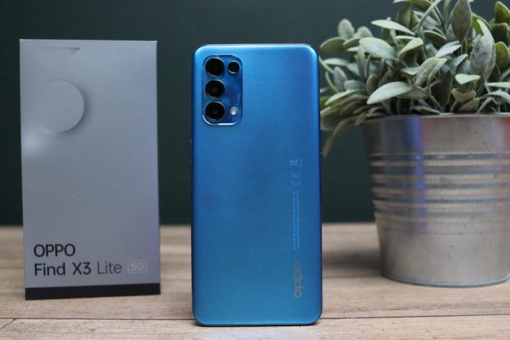 OPPO Find X3 Lite Smartphone Rueckseite