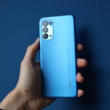 OPPO Find X3 Lite Smartphone Verarbeitung
